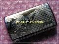 双枪银白压花全铜319#烟卷携带盒(鳄鱼)