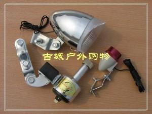 三洋代工OWLET自行车用磨电灯(6V金属磨电灯)