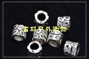 2011新款藏银刀坠吊饰-奥秘泡 可批发