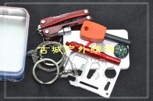 户外应急工具包户外急救包野外生存包便携求生组合箱