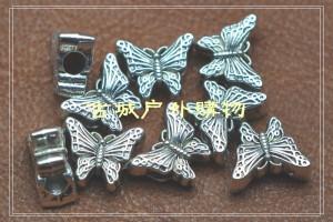 2012新款藏银刀坠吊饰-蝴蝶