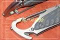 三刃木新款-带勾双滚珠锁钢本多用刀7053DUC-GVI,7053MUC-GVP