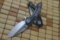 山猪版-美国微技术Microtech Whaleshark鲸鲨折刀(G10拉丝D2钢)