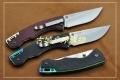 2014新款三刃木彩色半透G10柄线锁刀7095LUC