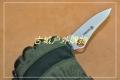 关铸GANZO G733轴锁G10鸟嘴折刀