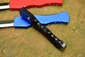 精仿Microtech微技术HALO IV光晕4铝柄剑标半直出