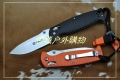 关铸GANZO G7412-WS轴锁G10石洗折刀