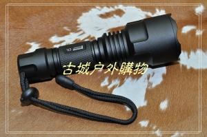 Pioneer_C8+一体电路仓XML2U2_LED强光手电筒