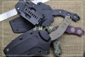 CSSD代工美国品牌K鞘战术小直刀大小两款