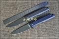 钛合金轴承快开平面绝杀D2粉末钢折刀